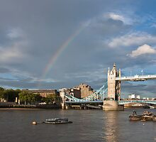 Tower Bridge by Graham  Custance