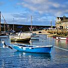 Mousehole Harbour Morning ~ Cornwall by Susie Peek