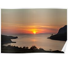 Towney Sunset Poster
