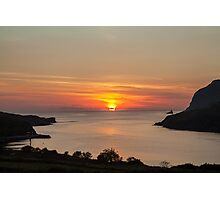 Towney Sunset Photographic Print