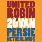 20 ROBIN VAN PERSIE by Matt Burgess