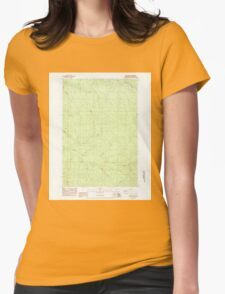 USGS Topo Map Washington State WA Wolf Point 244776 1984 24000 T-Shirt