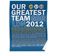 Our Greatest Team 2012 Poster