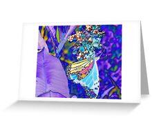 Shades of Pastel Greeting Card