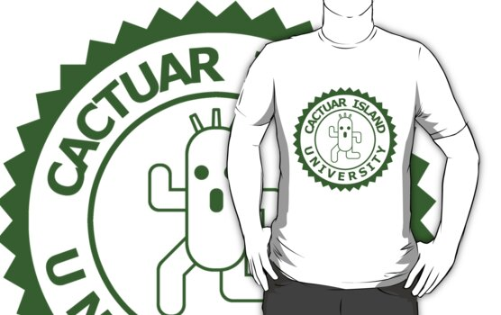 Cactuar Island University (round green) by karlangas