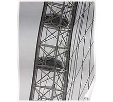 London Eye/Capsule(1 of 4) -(260812)- Digital photo Poster