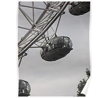 London Eye/Capsule(2 of 4) -(260812)- Digital photo Poster