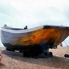 Fishing Boat - Brighton Beach, UK by Mdgraphix