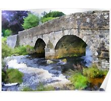Postbridge, Dartmoor, Devon, UK Poster