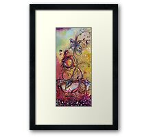 GARDEN OF THE LOST SHADOWS /  MAGIC BUTTERFLY PLANT Framed Print