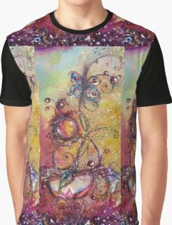 GARDEN OF THE LOST SHADOWS /  MAGIC BUTTERFLY PLANT Graphic T-Shirt