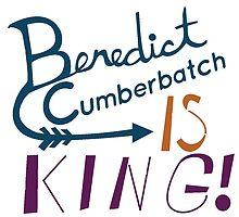 Benedict Cumberbatch is King! by SuperDarkRose