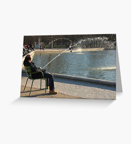 Paris - Wet Dream. Greeting Card