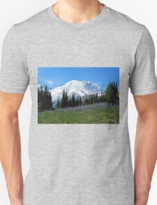 Mt. Rainier from Sunrise Unisex T-Shirt