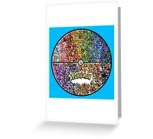 pokeball poke Greeting Card