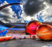 EPCOT - Mission: Space by Ray Chiarello
