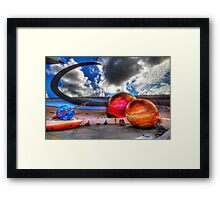 EPCOT - Mission: Space Framed Print