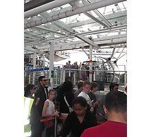 London Eye/Capsule/Getting onboard -(260812)- DIgital photo Photographic Print