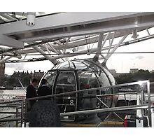 London Eye/Capsule/Closing doors -(260812)- Digital photo Photographic Print