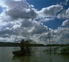 Danube River, Hungary 2005 by Michel Meijer