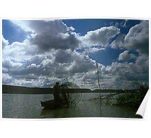 Danube River, Hungary 2005 Poster