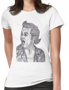 Ace Ventura: Pet Detective Womens Fitted T-Shirt
