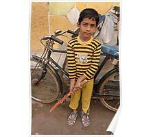 cricket boy Poster
