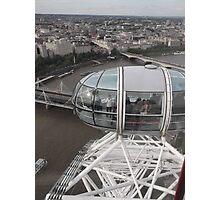 London Eye/Capsule(below us) -(260812)- Digital photo Photographic Print