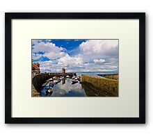 Lynmouth Harbour Framed Print