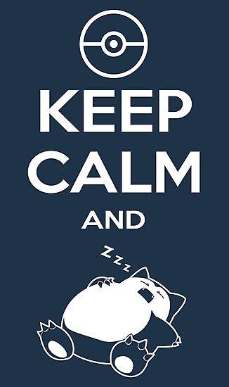 Keep Calm and... zZz by Ruwah