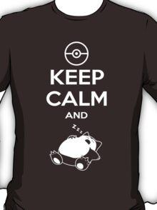 Keep Calm and... zZz T-Shirt