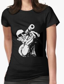 Gunman Womens Fitted T-Shirt
