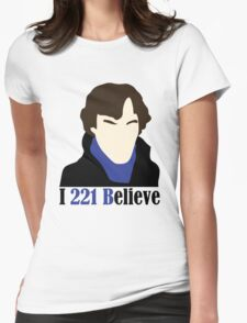 I 221 Believe Womens Fitted T-Shirt