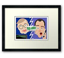Geeode! Framed Print