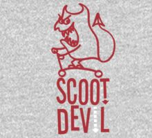 Scoot Devil (red) One Piece - Long Sleeve
