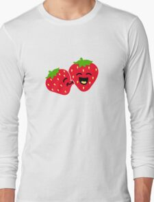 Strawberry Kiss Long Sleeve T-Shirt