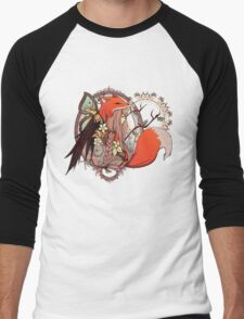One with Nature Men's Baseball ¾ T-Shirt