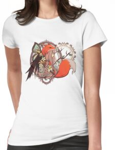 One with Nature Womens Fitted T-Shirt