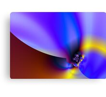 Flame well Canvas Print