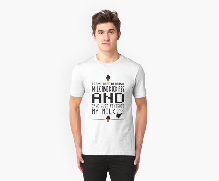 Maurice Moss - IT Crowd T-Shirt by doctor-ziggy