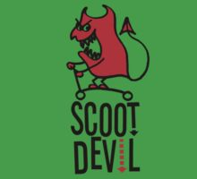 Scoot Devil (red/black) Kids Tee