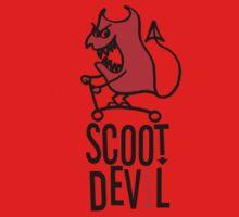 Scoot Devil (red/black) Baby Tee
