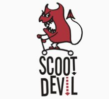 Scoot Devil (red/black) Kids Tee