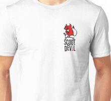 Scoot Devil (red/black) Unisex T-Shirt