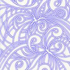 Floral abstract background  by Medusa81