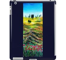 TUSCANY LANDSCAPE WITH POPPIES iPad Case/Skin