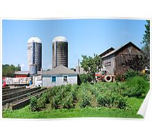 Working Farm in Suffield Poster