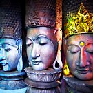 4 Faces (Please Enlarge) by Charuhas  Images