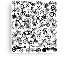 bike bikes Bicycle madness Canvas Print
