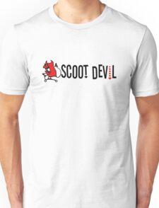 Scoot Devil (horizontal) Unisex T-Shirt